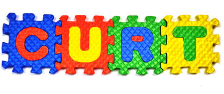 Connected Letters - CURT in center