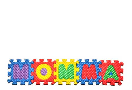Connected Letters - Momma in center on bottom 2
