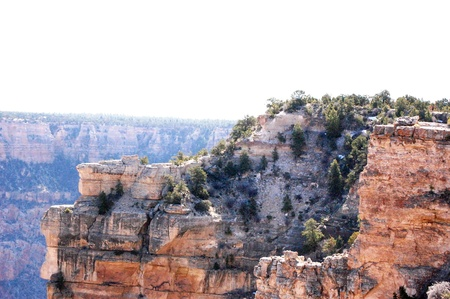 mountainside: Grand Canyon mountainside