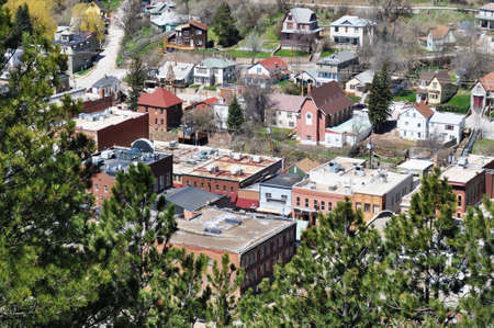 deadwood: Deadwood Aerial View