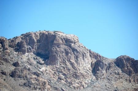 Rocks and sky background
