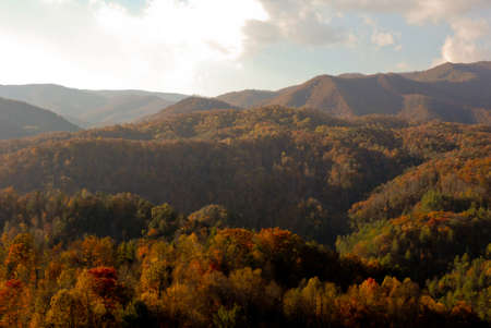 Asheville in the fall photo