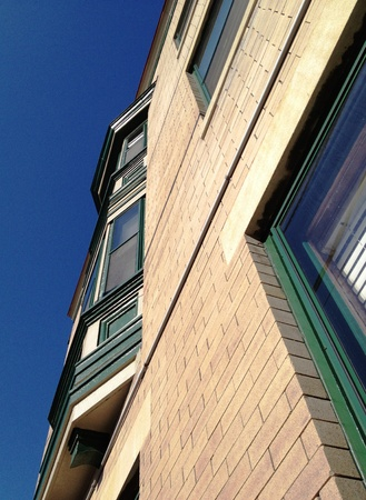 Muncie Indiana Canopic Apartments Banco de Imagens