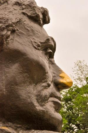Abraham Lincoln Memorial Statue Stock Photo - 13617043