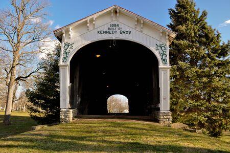 covered bridge': Kennedy Bros Covered Bridge Connersville Indiana