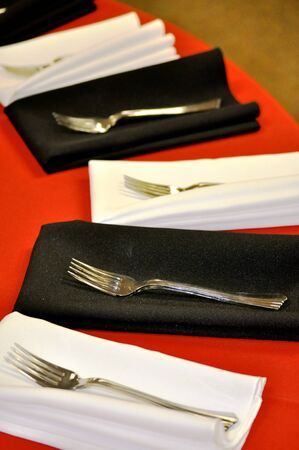 Fork place setting