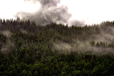 mountainside: Juneau Mountainside