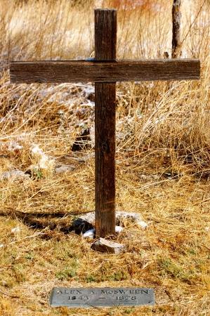 Lincoln New Mexico Historic Grave - Alex McSween