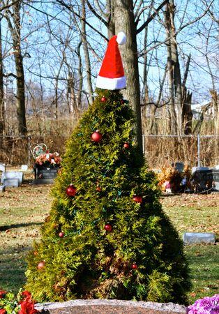 gravesite: Gravesite Christmas Tree