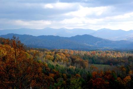 North Carolina in the Fall Standard-Bild