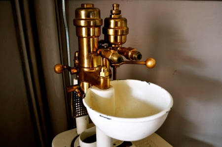 アンティークの噴水 写真素材