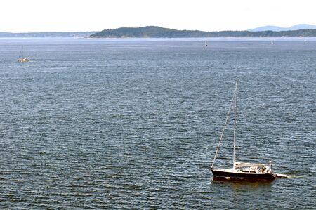 puget sound: Barche a vela in Puget Sound