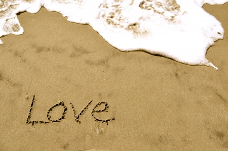 Love In the Sand Stock Photo - 15678539