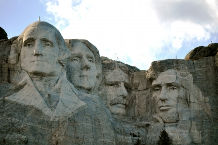 south dakota: Mount Rushmore South Dakota Editoriali