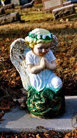 gravesite: Gravesite - Angel - Blue Eyes