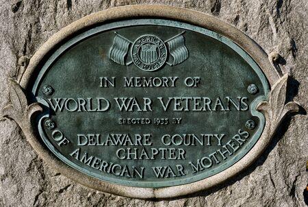 Cemetery Headstone - world war veterans
