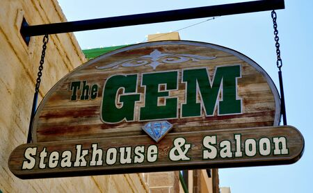 deadwood: Deadwood Gem Sign