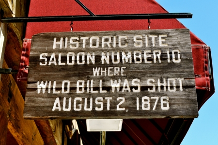deadwood: Deadwood Saloon 10 sign