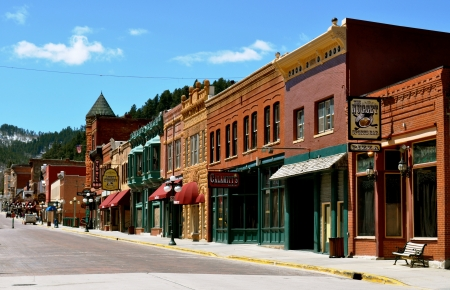 Deadwood Street View Stock Photo - 16151987