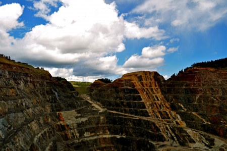 Homestake 鉱山 写真素材