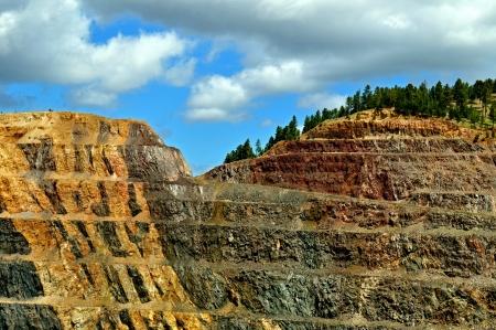 Homestake Mine Stok Fotoğraf