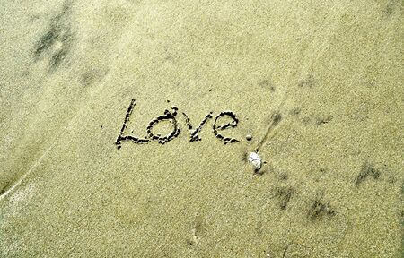 Love In the Sand Stock Photo - 16151393