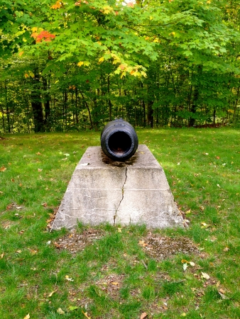 clair: Fort St. Clair Canon  Stock Photo