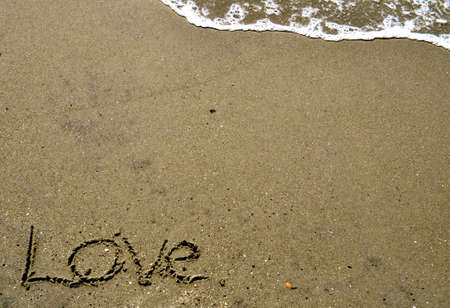 Love In the Sand Stock Photo - 16461720