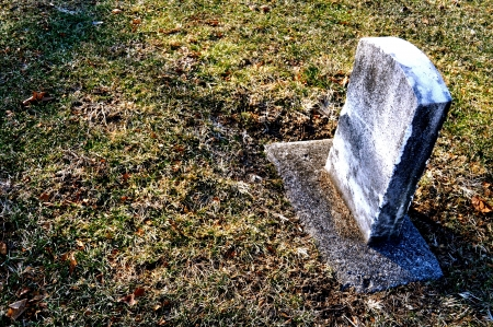 Cemetery Headstone Background Standard-Bild
