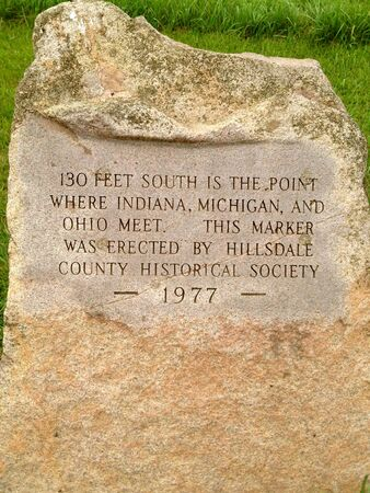 Three state marker