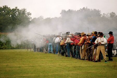 line of marksmen Redakční