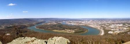 Overlooking the Tennessee River