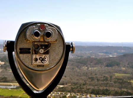 viewfinder: Rock City mirino Archivio Fotografico