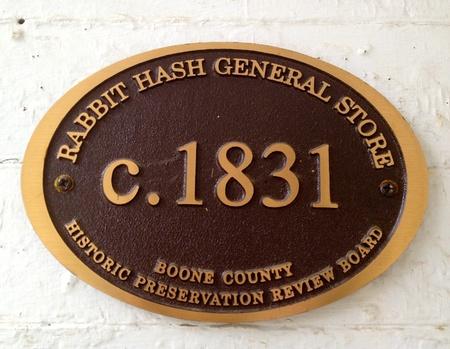 general store:  Rabbit Hash General Store Editorial