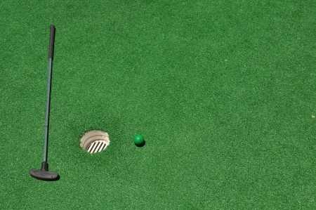 Mini Golf Background