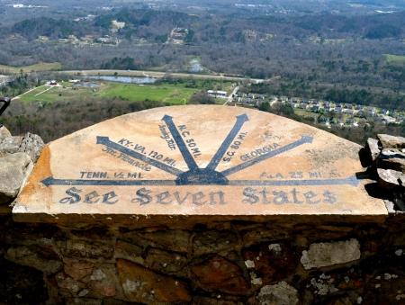 See Seven States - Rock City  Standard-Bild
