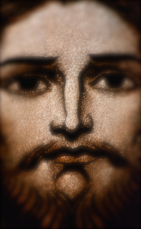 Jesus Christ in Stained Glass Stock Photo - 22517171