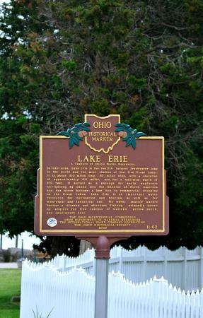 Lake Erie - Ohio Historical Marker Sajtókép