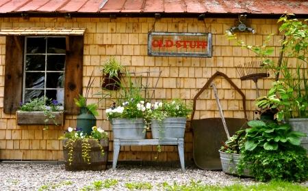 Rabbit Hash Old Stuff Store Zdjęcie Seryjne