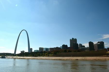 national landmark: Il Saint Louis Arch - Un punto di riferimento nazionale nel Missouri, Stati Uniti