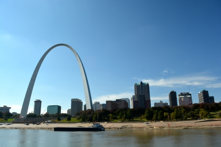 St. Louis Arch in the background