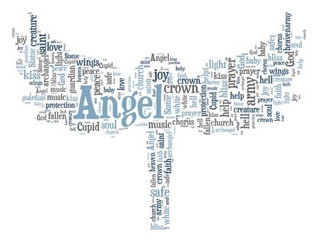 ange gardien: Nuage de mots Ange