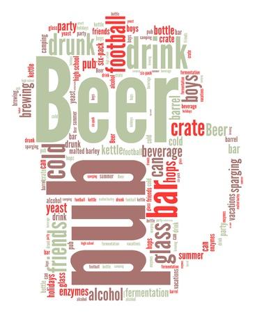 Beer  word cloud photo