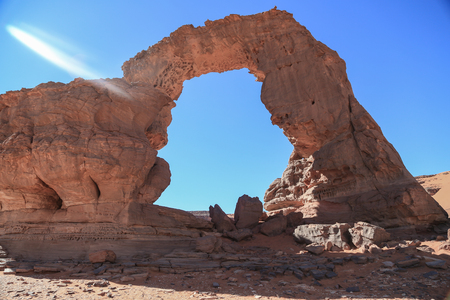Sahara Arches Stock Photo