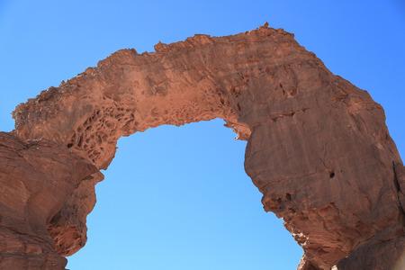 pintura rupestre: Arcos del sahara Foto de archivo