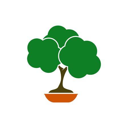 bonsai tree design vector illustration