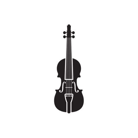 violin icon design vector illustration