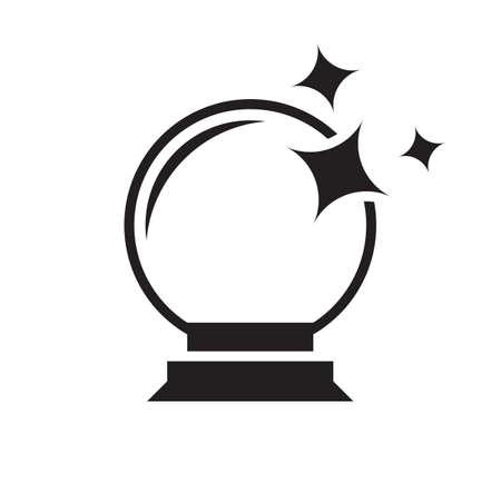 magic ball icon design vector illustration
