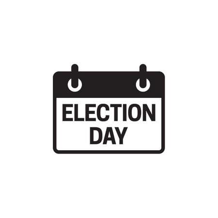 Election Day icon design vector illustration