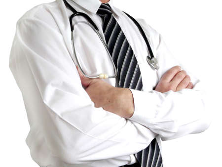 Man doctor with stethoscope Stock Photo - 4925888